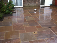 Full Feature Back Garden Patio - Putnoe, Bedford