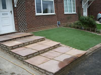 Garden redesign and Wall rebuild - Stevenage