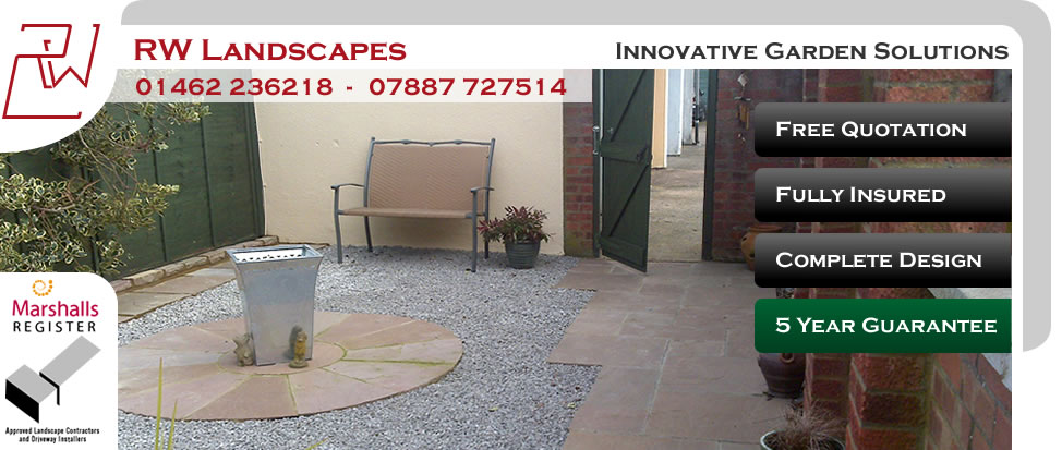 RW Landscapes - Innovative Garden Solutions